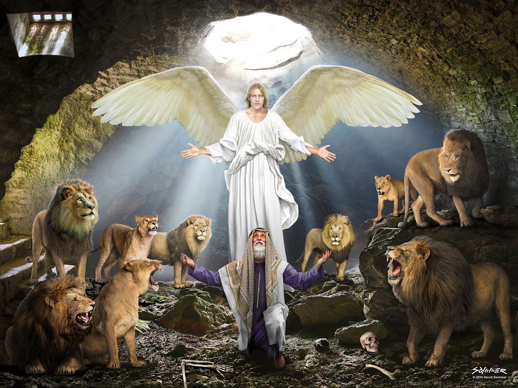 Daniel In Lions Den